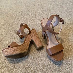Charlotte Russe block heels